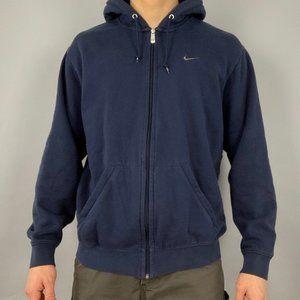 vintage 90s Nike zip up hoodie